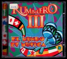 RUMBOLERO III - El Mundo Es Musica - SPAIN CD Senador 1997 - 11 Tracks