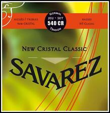 Savarez 540CR New Cristal Classic - Classical Guitar Strings - Normal Tension