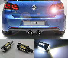 2x White Error Free LED Reverse Back up Light Bulb For vw Golf Mk6  GTI 10-2014