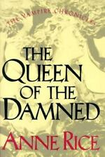 The Queen of the Damned Bk. 3 by Anne Rice Hardcover 1988 Fast Free Shipping!