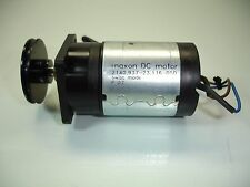 MAXON DC MOTOR 2140.937-23.116-050 SWISS MADE P 07 WITH BLACK PULLEY