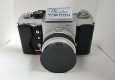 Beseler Topcon Super D Vintage Camera with 58mm Lens and Cover