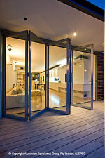 Custom Made Aluminium Bifold Doors - Any Size, Colour or Configuration