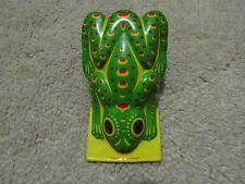 VINTAGE TIN TOY FROG Clacker Made In Germany Frog Clicker Toy