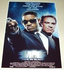 MEN IN BLACK CAST X2 PP SIGNED POSTER 12X8 WILL SMITH