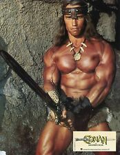 ARNOLD SCHWARZENEGGER CONAN THE DESTROYER 1984 PHOTO VINTAGE LOBBY CARD N°1