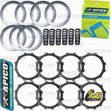 Apico Clutch Kit Steel Friction Plates & Springs For Yamaha YZ 450F 2010 MotoX