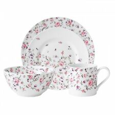 Royal Albert New Country Roses Rose Confetti Modern Casual Set, 4 PIECE NIB