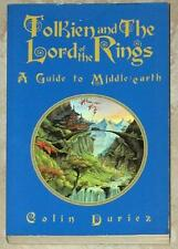 TOLKIEN AND THE LORD OF THE RINGS ~ A GUIDE TO MIDDLE-EARTH ~ COLIN DURIEZ ~ SC