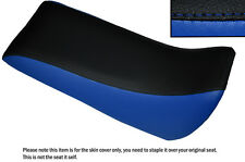 BLACK & R BLUE CUSTOM FITS QUADZILLA SMC RAM 250 DUAL LEATHER QUAD SEAT COVER