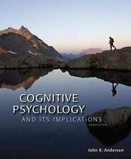 Cognitive Psychology and Its Implications, Anderson J, New Condition