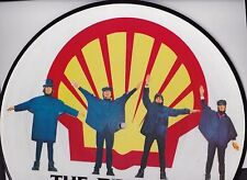 "THE BEATLES ""HELP!"" PICTURE DISC STEREO LP - HOLLAND IMPORT - E.M.I. GRAMOPHONE"