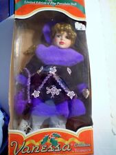 VINTAGE LIMITED EDITION SERIES 2003 VANESSA DOLL WITH EXTRA PAIR OF ICE SKATES