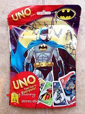 Batman Uno Card Game Limited Edition With 112 Custom Cards NEW SEALED