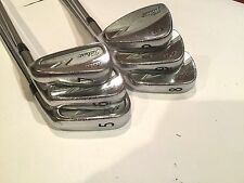 Titleist ZB Forged Blend Iron Golf Club: 5-iron to PW, Project. X 6.0 (Stiff)