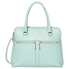 Brand New Modalu Pippa Small Leather Grab Bag, Aquamarine
