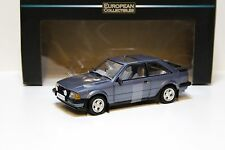 1:18 Sun STAR FORD ESCORT xr3i MKIII Caspian BLUE NEW in Premium-MODELCARS