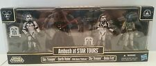 Star Wars 2012 AMBUSH AT STAR TOURS Set of 4 Figures Disney Parks Exclusive