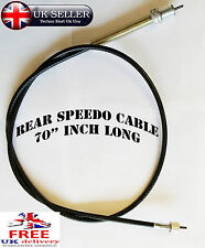70 INCH SMITHS SPEEDOMETER CABLE FOR INDIAN SPEEDO ROYAL ENFIELD BSA BMW NORTON