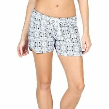 "2016 NWT WOMENS VOLCOM DAY TRIPPER 5"" BOARDSHORTS $45 5 white 4 way stretch"
