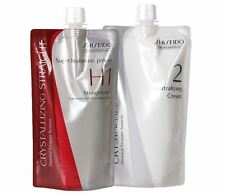 Shiseido Straight H1 + Neutralizer Cream For Resistant to Natural Hair perm
