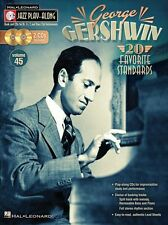 Jazz Play-Along George Gershwin Alto Tenor Sax Guitar Keyboard Music Book & CD