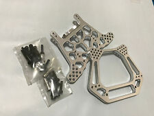 Aluminum F/R Shock Tower Fit TRAXXAS SLASH STAMPEDE Rustler  VXL /2WD -sil