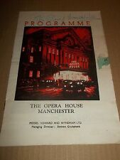 "OPERA HOUSE MANCHESTER "" THE MERRY WIDOW "" SIGNED PETER GRAVES & VANESSA LEE"