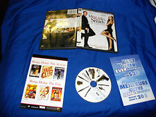 Mr. and Mrs. Smith (DVD, 2005, Bilingual Widescreen)