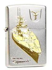 Zippo ® Feuerzeug Schlachtschiff Bismarck Gravur