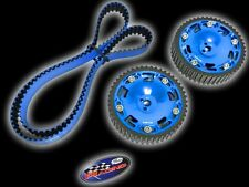 GATES TIMING BELT & RACING CAM GEAR MITSUBISHI 90-99 ECLIPSE / 03-06 EVO BLUE