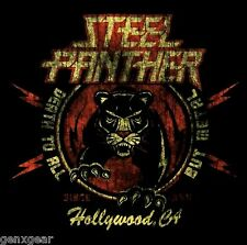 STEEL PANTHER cd lgo DEATH TO ALL BUT METAL Official SHIRT SMALL feel the steel