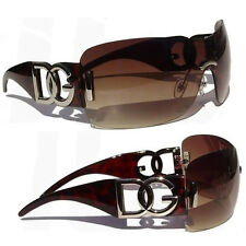New Men's Unisex Designer Aviator DG Eyewear Cool Hot Brown Fashion Sunglasses