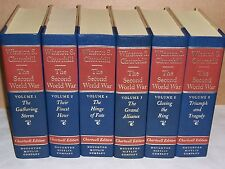 Houghton Mifflin Chartwell Ed THE SECOND WORLD WAR Winston Churchill in 6 vols