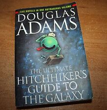 DOUGLAS ADAMS: THE ULTIMATE HITCHHIKER'S GUIDE TO THE GALAXY PAPERBACK