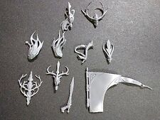 Warhammer Wood Elves Sisters of the Thorn / Wild Riders Banner / Musician Bits