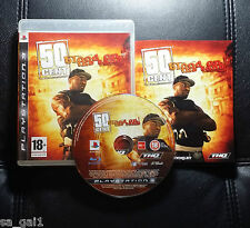 50 Cent Blood On The Sand (Sony PlayStation 3, 2008) PS3 - FREE POSTAGE