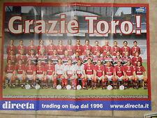 TORINO calcio 1996 - I POSTER DI TUTTOSPORT cm49 X 68