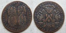 Lyon jeton cuivre Ravat maire 1709 / French copper jetton mayor + aldermen