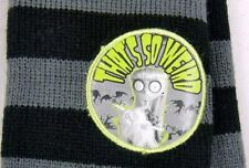 Disney FRANKENWEENIE Striped Arm Warmers WEIRD GIRL & MR WHISKERS Vampire Cat