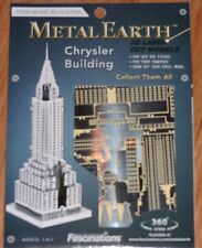 Chrysler Building Metal Earth 3D Laser Cut Metal Model Fascinations Skyscraper