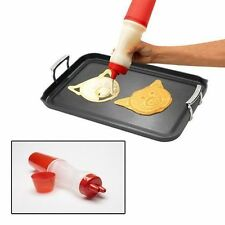 Good Cook Pancake Creator Dispenser Drawing Pen Project Art Cooking RED