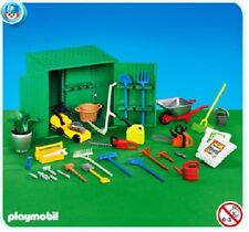 Playmobil Farm Garden Shed with Tools for collectors NEW mini diorama toy 140
