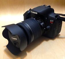 Canon EOS Rebel T5i / EOS 700D 18.0 MP Digital SLR 18-55mm STM (2 Lenses)