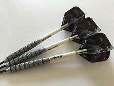 29g Blue Ring TARANTULA Darts Set, Unicorn Stems & Bulls HD TARANTULA Flights