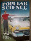 POPULAR SCIENCE Vintage Magazine October 1956 Very Good Condition Great Ads