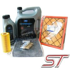 New! GENUINE FORD FOCUS ST225 ST 2.5 FULL SERVICE KIT + RS SPARK PLUGS UPGRADE!