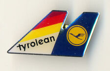 TYROLEAN Austrian Airlines & LUFTHANSA Airlines Alliance Badge