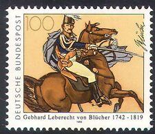 Germany 1992 Horses/Military/Blucher/Animals/Army/Transport/Battles 1v (n31860)