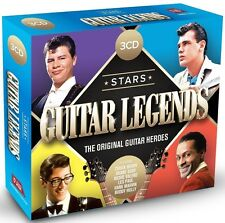 STARS-GUITAR LEGENDS feat. DICK DALE, BUDDY HOLLY, CHUCK BERRY, u.a. 3 CD NEU
